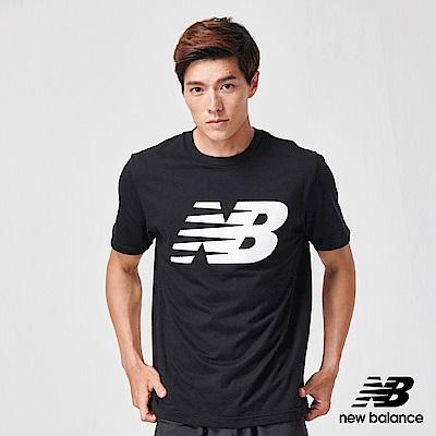 New Balance NB DRY 短袖上衣_MT91923BK_男性_黑色