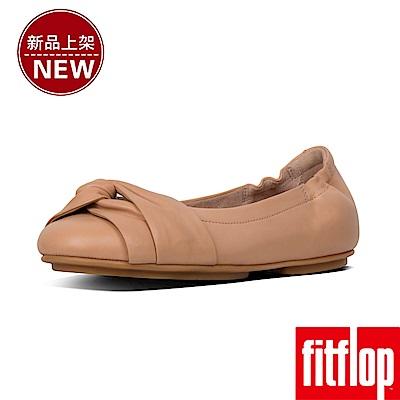 FitFlop TWISS METALLIC BALLERINAS-裸膚
