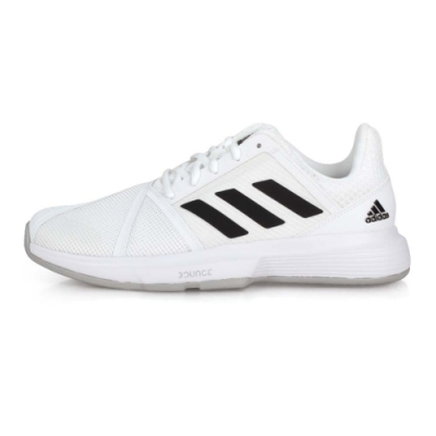 ADIDAS 男 網球鞋 CourtJam Bounce M 白黑