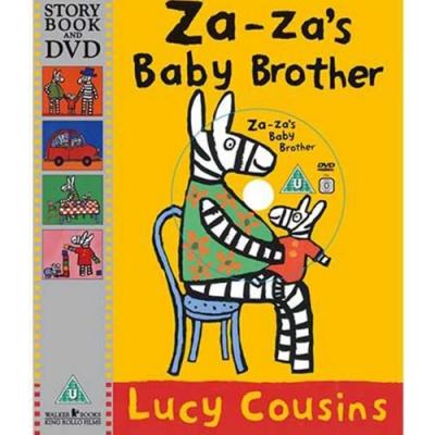 Za-za s Baby Brother Za-za 有弟弟了!平裝繪本+DVD