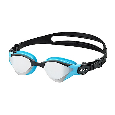 【日本Tabata】成人競技款抗UV防霧泳鏡(DELFINA V2000AMR)
