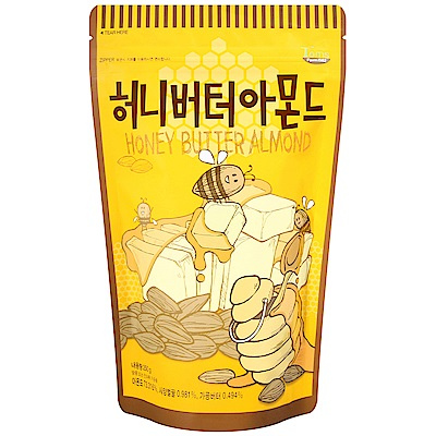 GILIM 蜂蜜奶油風味杏仁(250g)