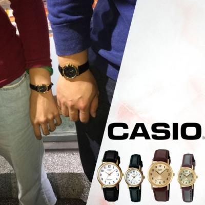 CASIO卡西歐 經典復古皮帶錶/MTP-1095Q/LTP1095Q