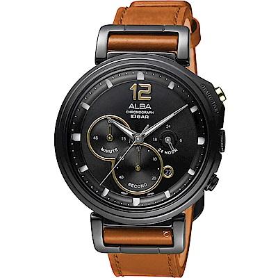 ALBA雅柏休閒生活風格腕錶(VD53-X303J AT3D69X1)