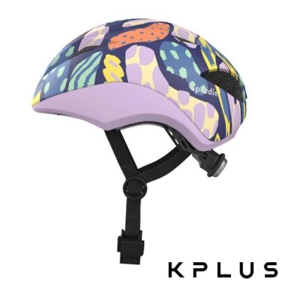 KPLUS SPEEDIE空力型彩色版 兒童休閒運動安全帽-幻想紫