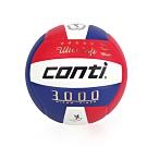 conti 5號頂級超細纖維貼布排球 CONTI 藍紅白
