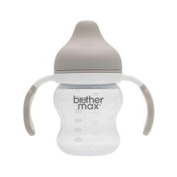 英國 Brother Max 防漏喝水訓練杯, 裸灰