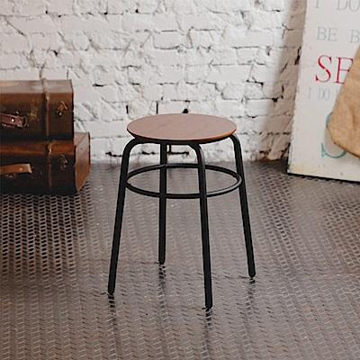 工業風復古椅凳(30x30x44cm)