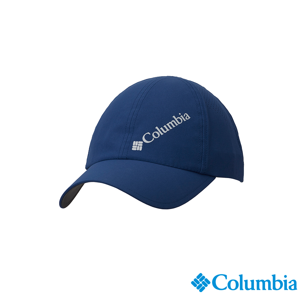 Columbia 哥倫比亞中性-UPF50防潑快排棒球帽-深藍UCU01290NY