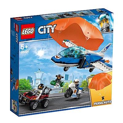 【LEGO樂高】城市系列 60208 航警降落傘追捕