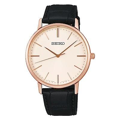 SEIKO精工/經典面面對時錶款/7N01-0JR0P(SCXP076J)