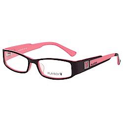 PLAYBOY-時尚光學眼鏡-黑色-PB85089