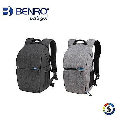 BENRO百諾 Traveler 200 行攝者系列雙肩攝影背包(黑/灰)