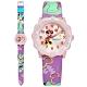Disney 迪士尼 米奇系列 米妮面板 分鐘轉盤 兒童 卡通 皮革手錶-粉x紫/32mm product thumbnail 1