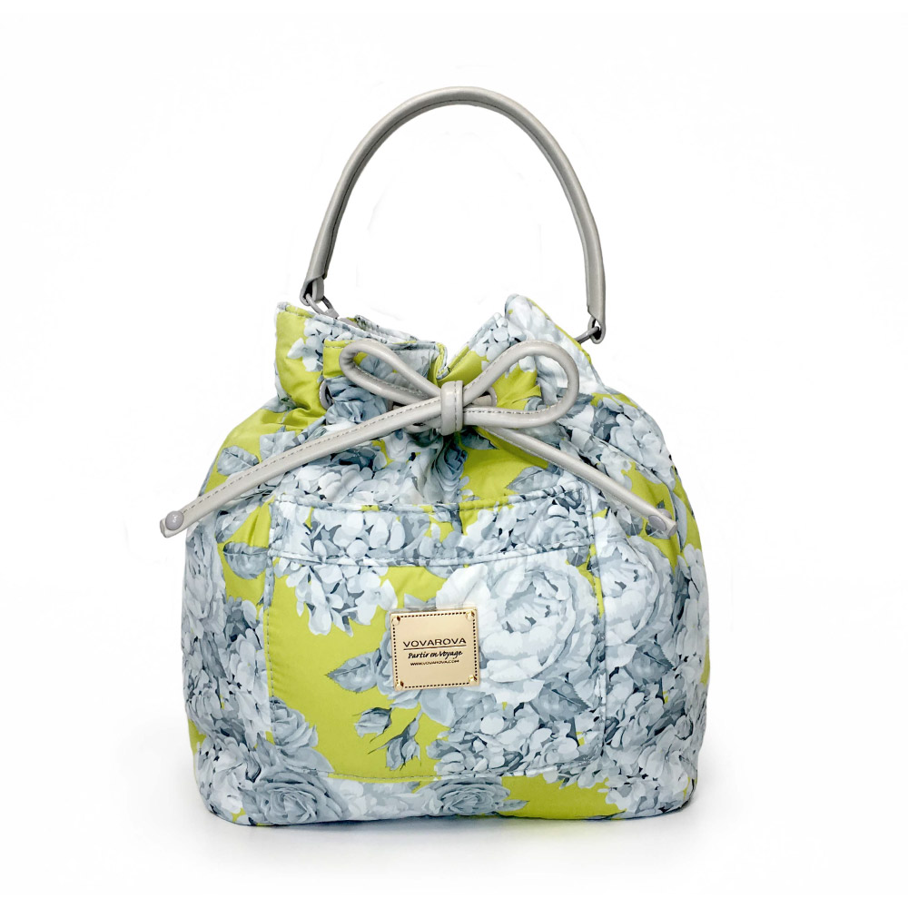 VOVAROVA空氣包-口袋水桶包-花漾 • 黃