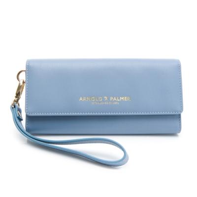 Arnold Palmer- 三折式長夾附手挽帶 Ton(時髦)系列-淡藍色