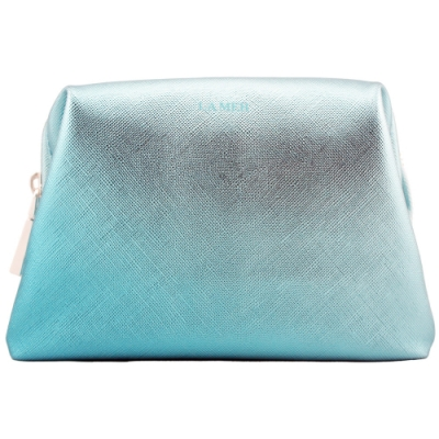 LA MER海洋拉娜 限量化妝包-淺藍色