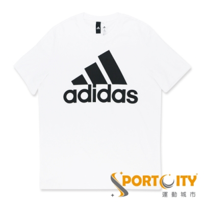 ADIDAS ESS LINEAR TEE 男LOGO 短袖T恤 CD4863