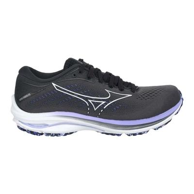 MIZUNO WAVE RIDER 25 WIDE 女慢跑鞋-4E-美津濃 J1GD210693 鐵灰紫