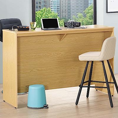 D&T 德泰傢俱 WEDA時尚風格5尺吧台工作桌 -145.5x51.5x99.5cm