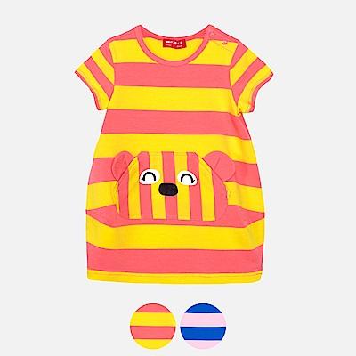 WHY AND 1/2 mini 條紋棉質萊卡洋裝 1Y~4Y 多色可選