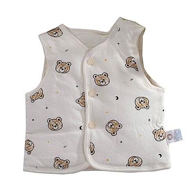 可愛熊鋪棉背心外套 k60809 魔法Baby