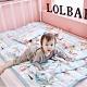 【Lolbaby】Rayon防靜電輕薄柔軟涼感嬰兒床墊-繽紛動物園 product thumbnail 1