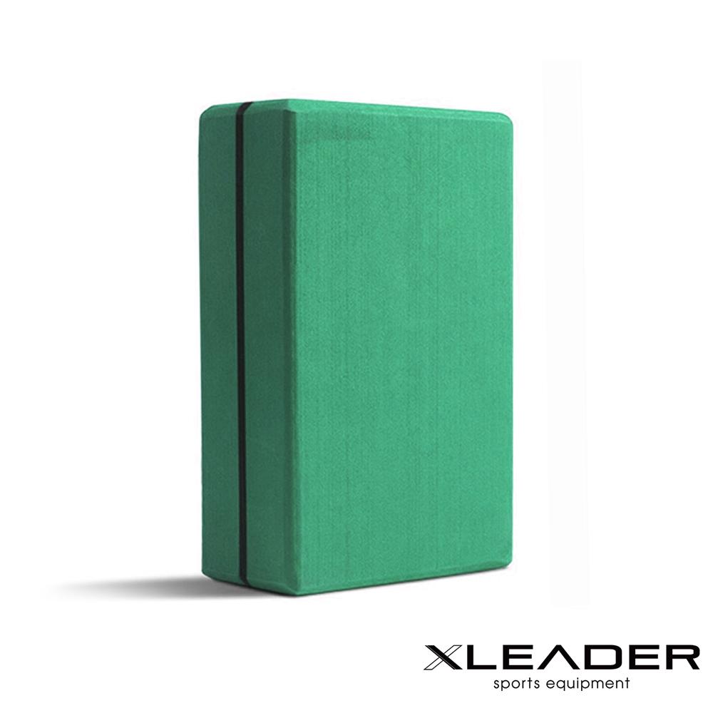 Leader X 環保EVA高密度防滑 加硬加重瑜珈磚 綠色 - 急