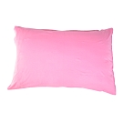 YVONNE COLLECTION 純棉素面枕套(可搭配海錨被套組)-粉紅