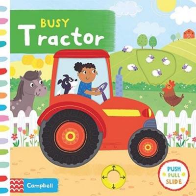 Busy Tractor 忙碌的拖拉機硬頁推拉書