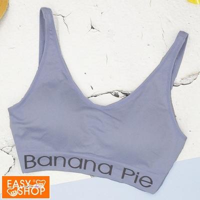 EASY SHOP-Banana Pie-挖駕派-大挖背無鋼圈內衣-質感灰藍