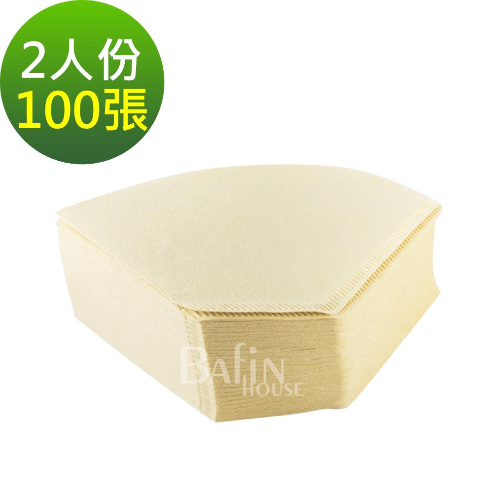 日本三洋 2人份咖啡濾紙 100張( 101 無漂白)