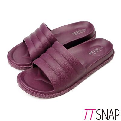 TTSNAP拖鞋-MIT輕量室內舒適居家拖鞋 紫