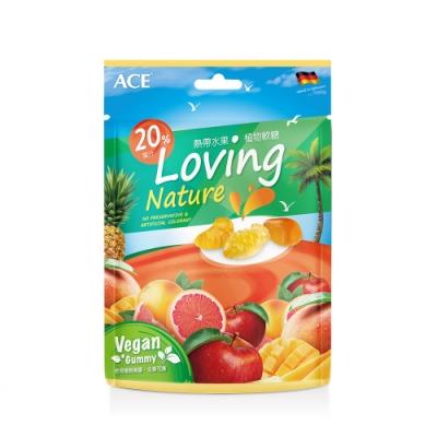 【ACE】德國進口 熱帶水果植物全素軟糖(36g/袋)