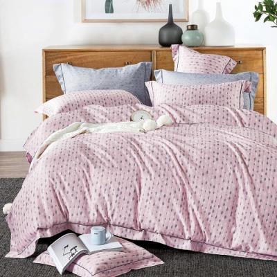 A-ONE 頂級天絲三件式-雙人床包/枕套組-咖啡奶泡