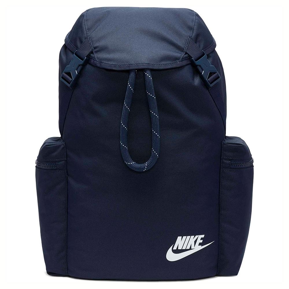 NIKE 後背包  男女款 運動 健身 大容量  藍 BA6150451 NK HERITAGE RKSK