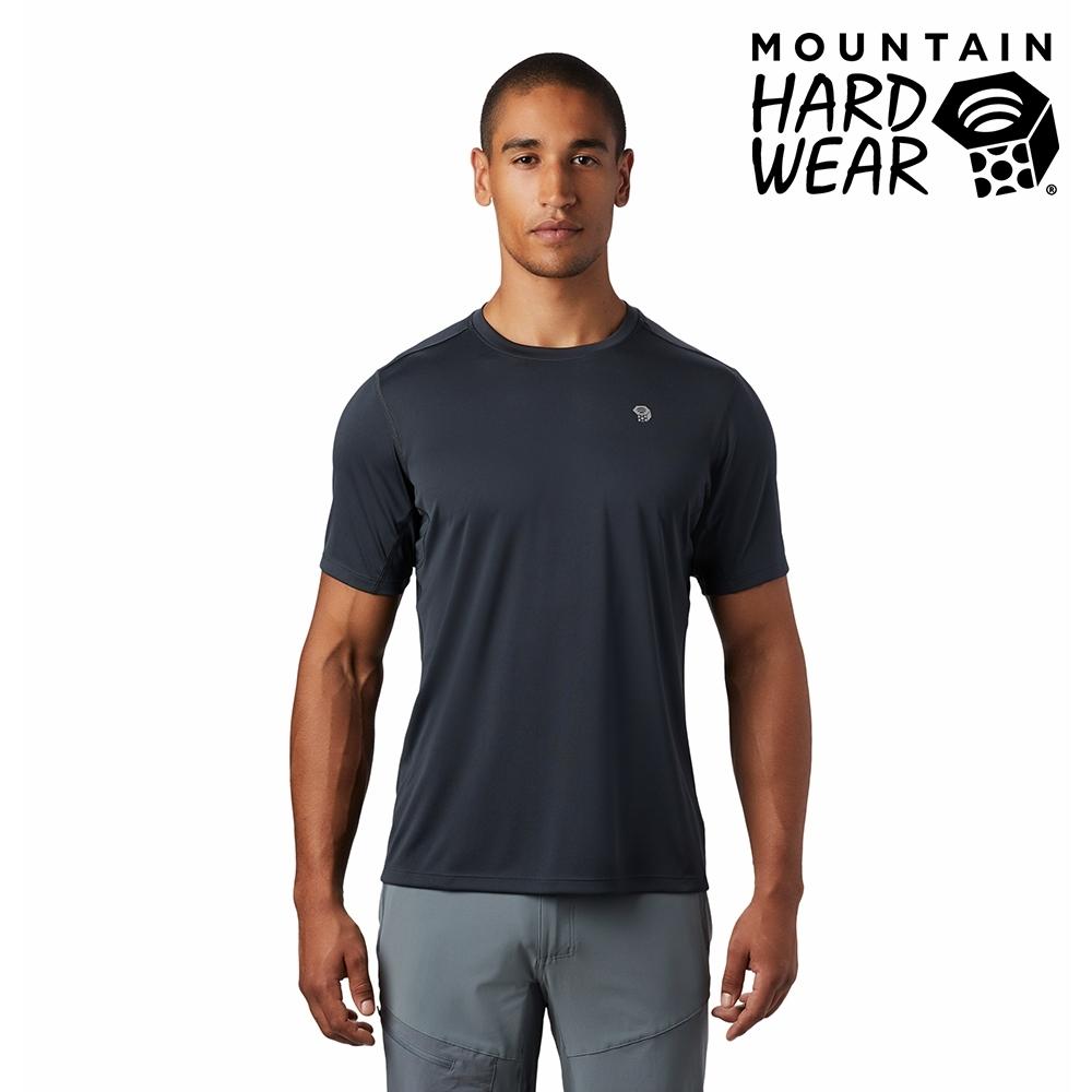 【美國 Mountain Hardwear】Wicked Tech Short Sleeve T-Shirt 防曬快乾短袖排汗衣 男款 深風暴灰 #1891121
