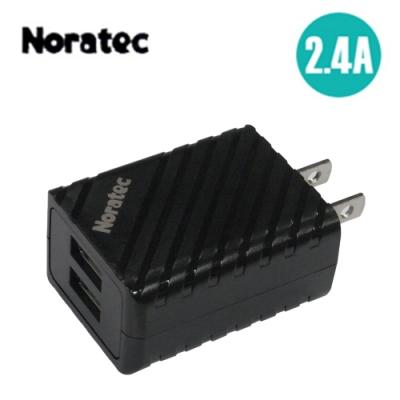 Noratec 色彩繽紛2.4A 雙USB輸出變壓器 TC-A240