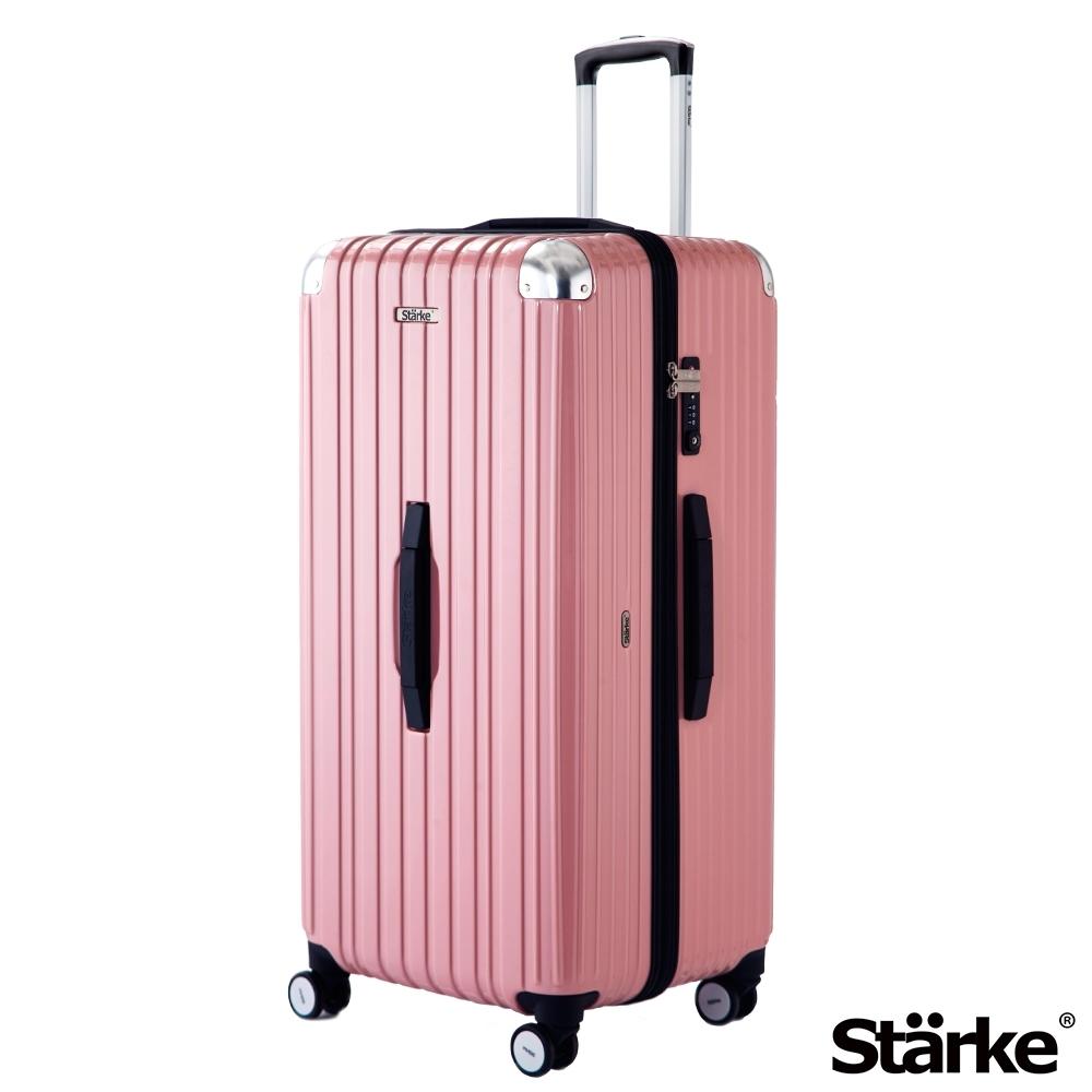 [限時搶] Starke 32吋PC拉鍊旅行箱Sport運動版行李箱 -玫瑰粉