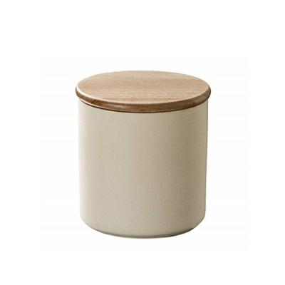 日本Karari珪藻土食品保存罐HO1845咖啡罐茶葉罐糖罐可微波爐加熱乾燥