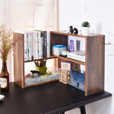 凱堡 P型桌上書架組/桌上書架/收納架