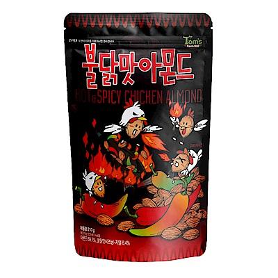 韓國Toms Gilim 杏仁果-火辣雞味(210g)