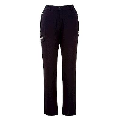 FILA 女款超潑水平織長褲-黑 5PNS-5112-BK