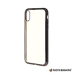 RASTA BANANA iPhone XS Max 輕量柔韌電鍍保護套
