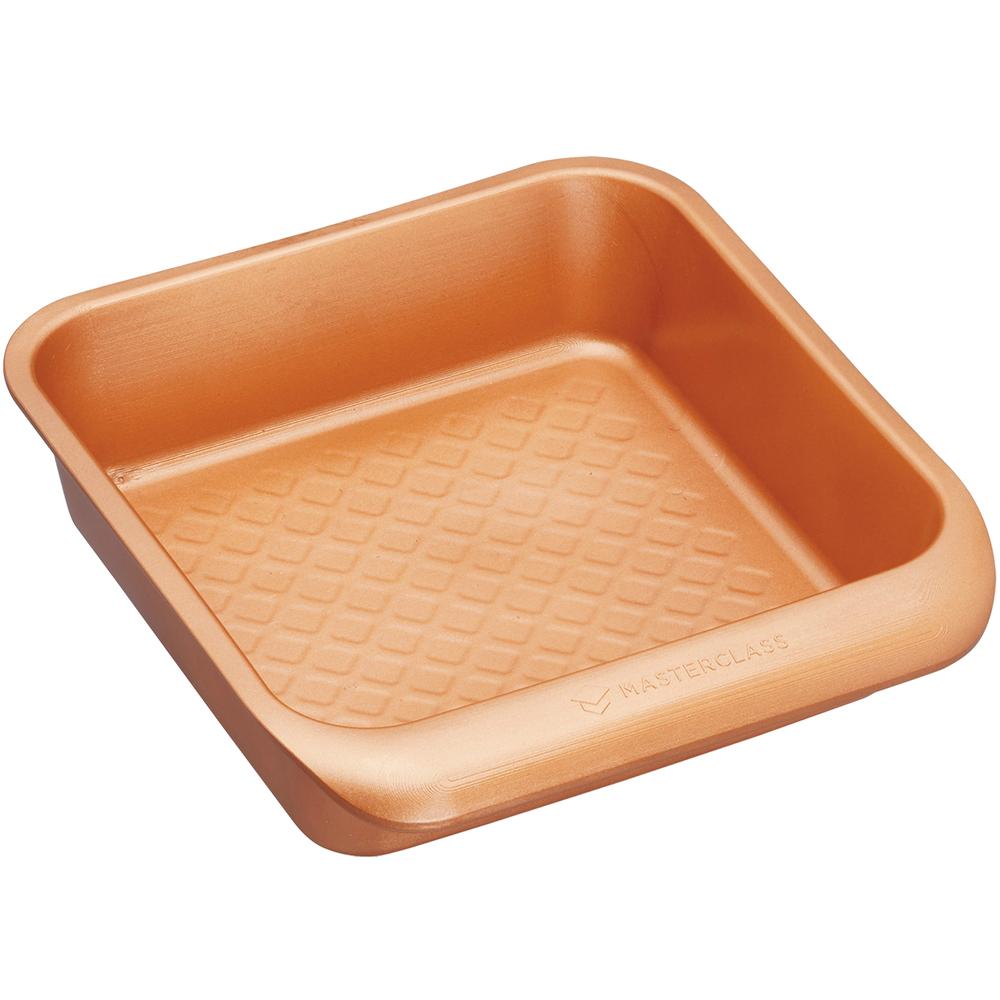 《Master》單柄陶瓷塗層方形深烤盤