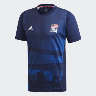 adidas USAV REPLICA  PRIMEBLUE 短袖上衣 男 FK1024