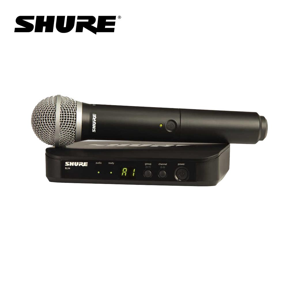 Shure BLX24/PG58 無線麥克風組 系統搭配 PG58 麥克風