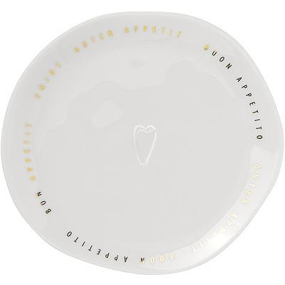 《RADER》燙金餐盤(幸福享食M)