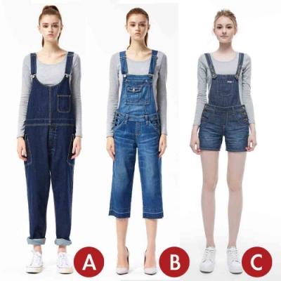 [時時樂限定]BRAPPERS 女款 吊帶系列褲(三款選)