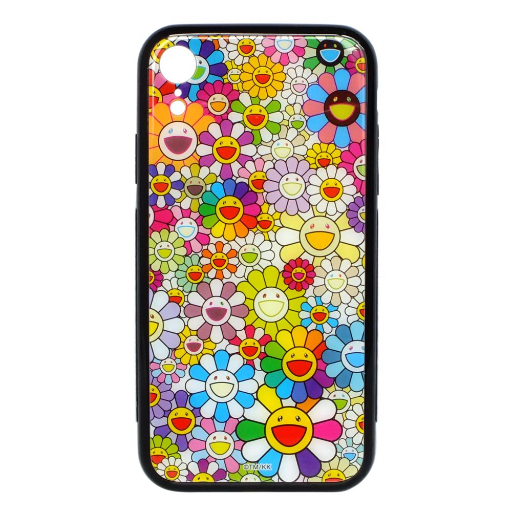 KaiKai Kiki 限量村上隆滿版花花設計I Phone XR手機殼